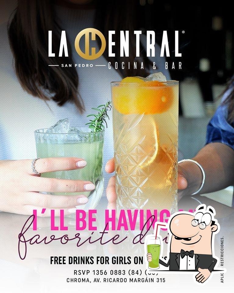 Disfrutra de tu bebida favorita en La Central SP