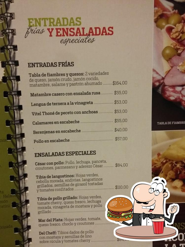 Order one of the burgers offered by Montecatini