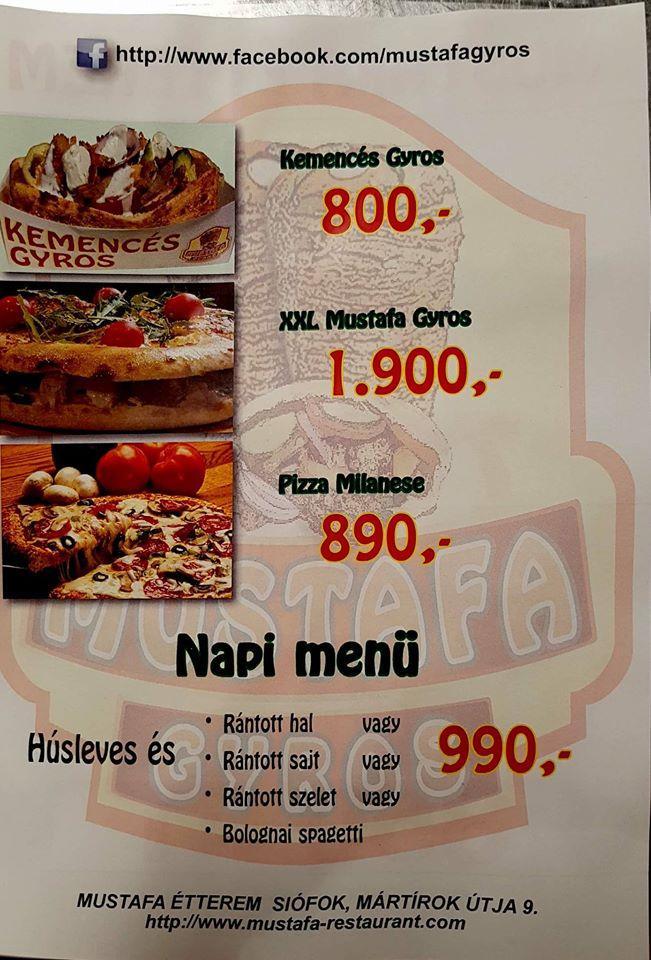 Este es el anuncio de Mustafa Restaurant