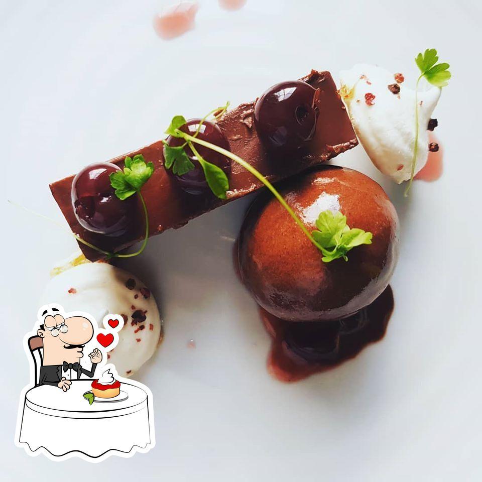 Penrose Kitchen serves a selection of desserts