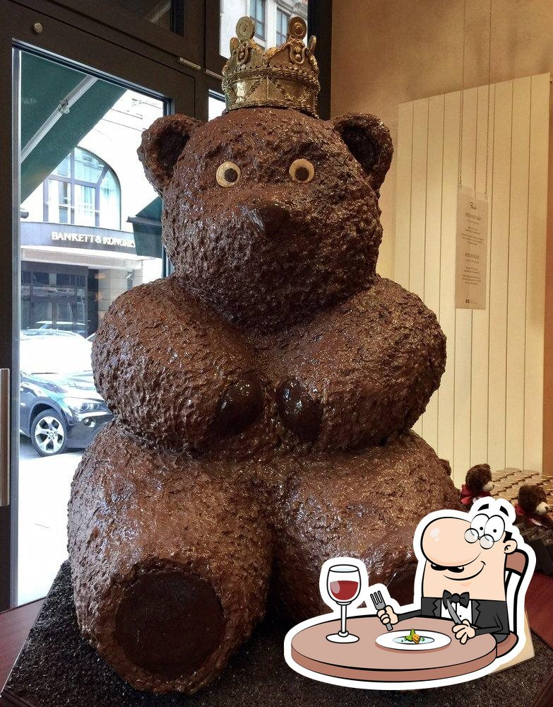 Essen im Rausch Schokoladen-Café