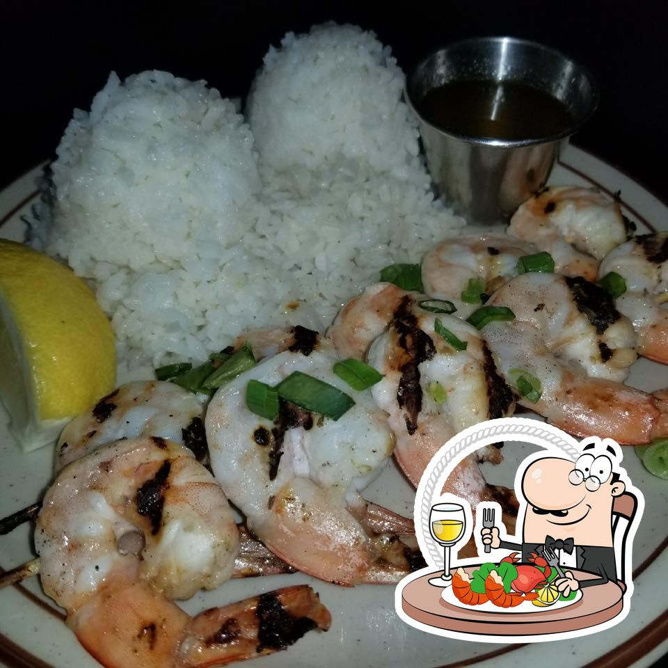 Try out seafood at Smiley's Local Grinds