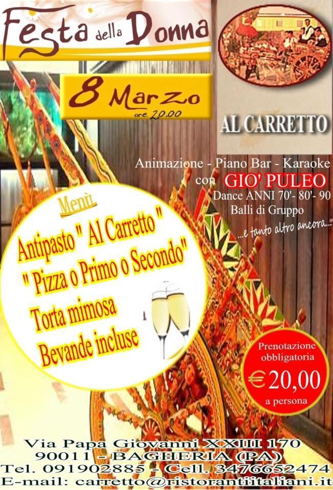 Lee toda la información que hay sobre Trattoria Pizzeria Al Carretto