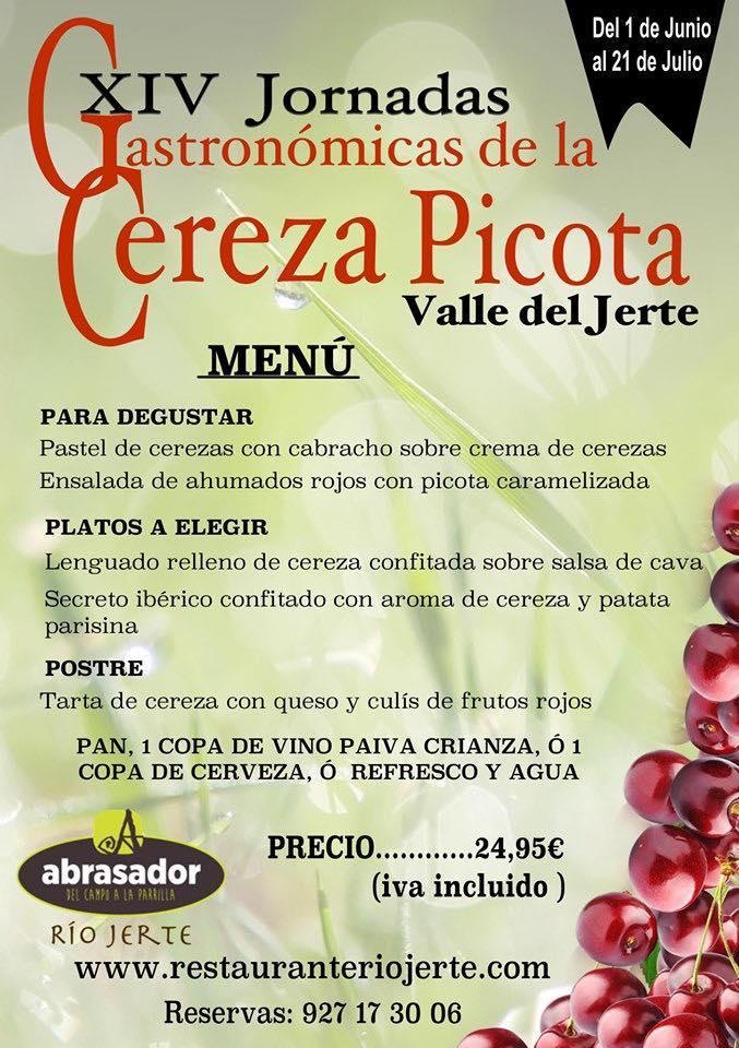 Lee toda la información que hay sobre Restaurante Abrasador Río Jerte