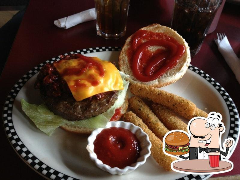 Las hamburguesas de Mandy's Railway Diner las disfrutan una gran variedad de paladares