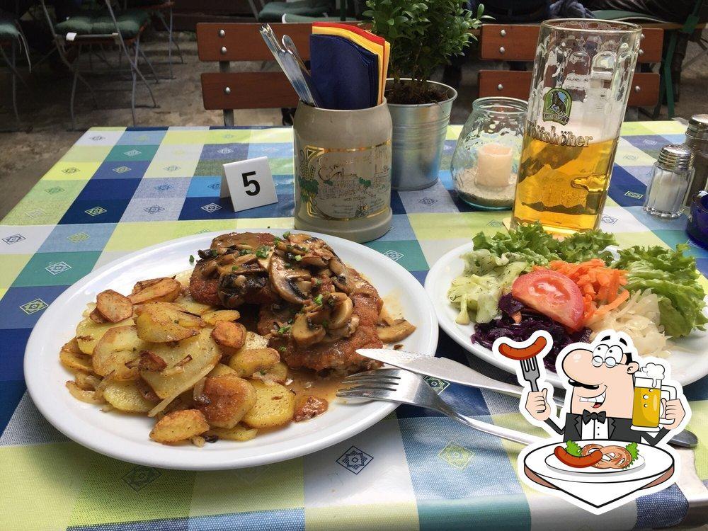Food at Blaue Traube