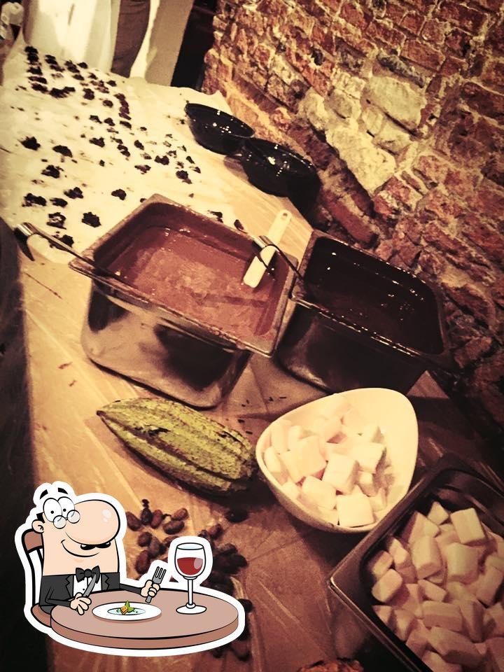 Food at De Rooden Hoed