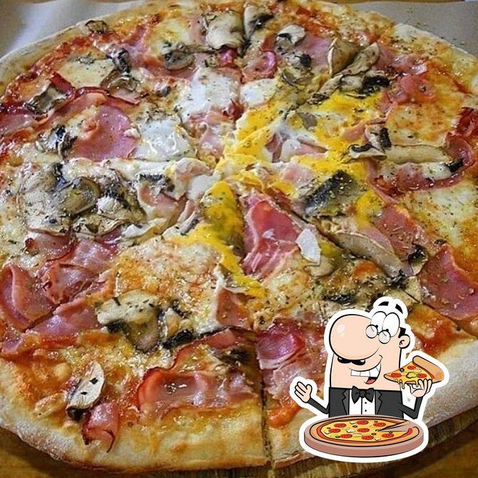 En La Urbana, puedes disfrutar de una pizza