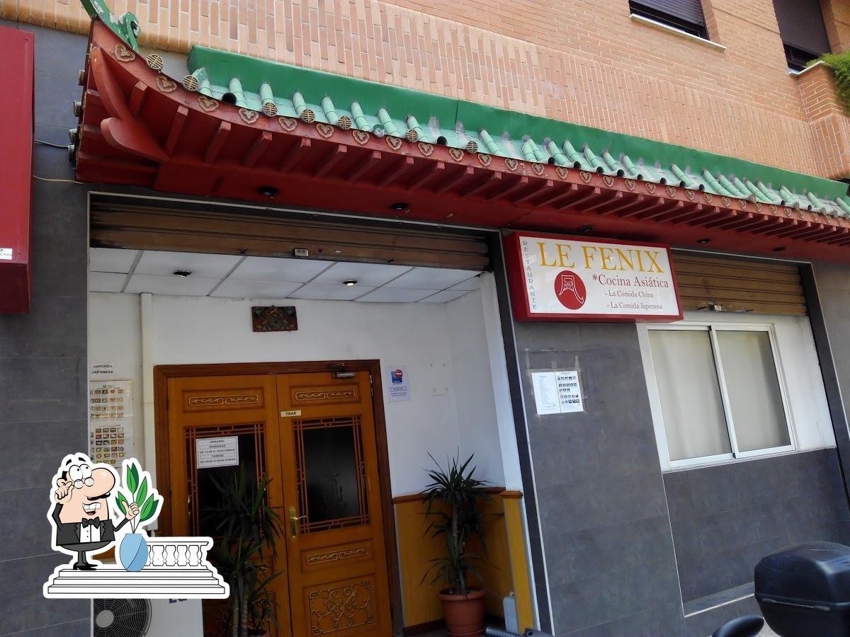 La zona exterior es de lo mejor que tiene Restaurant El Fénix