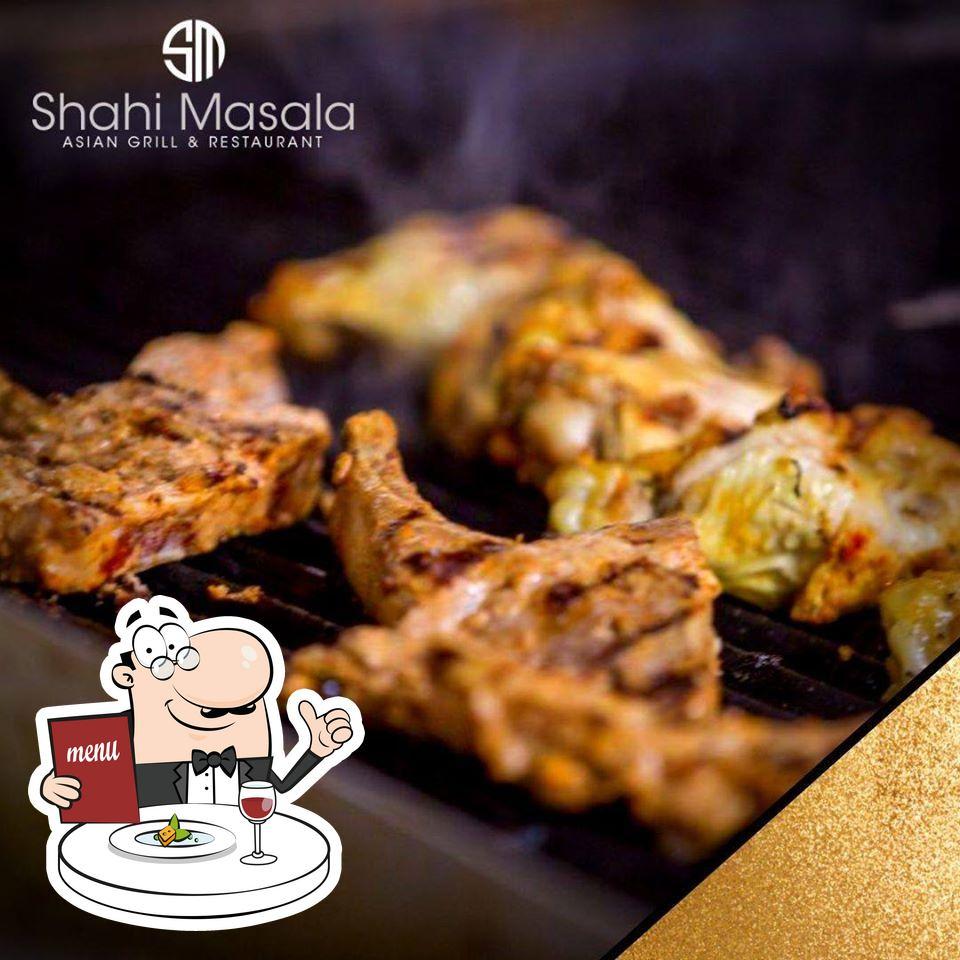 Food at Shahi Masala