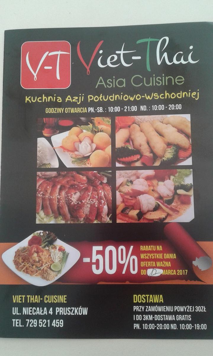Viet Thai Asia Cuisine Restaurant Pruszkow Restaurant Reviews
