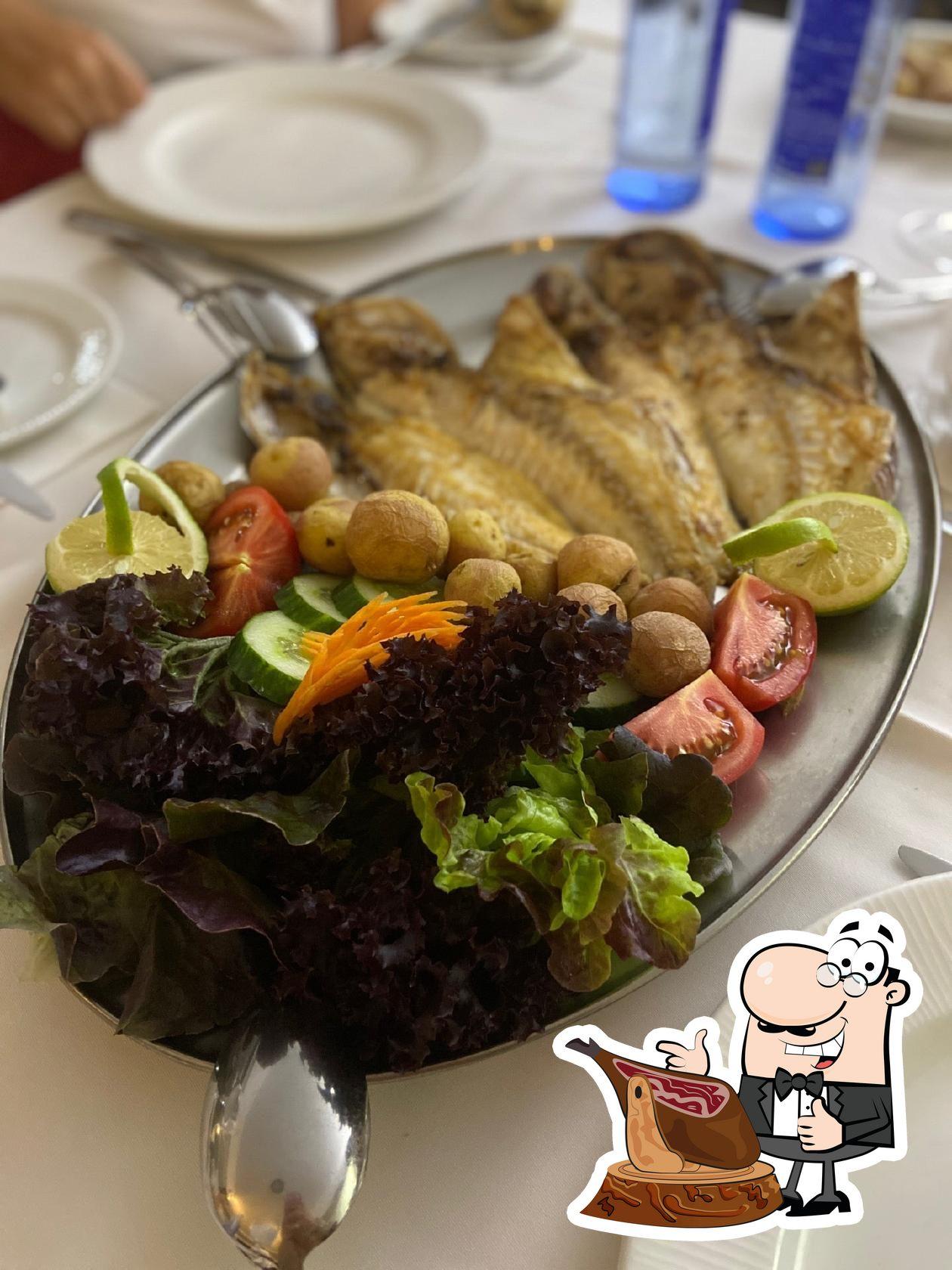 Food at Villa Toledo