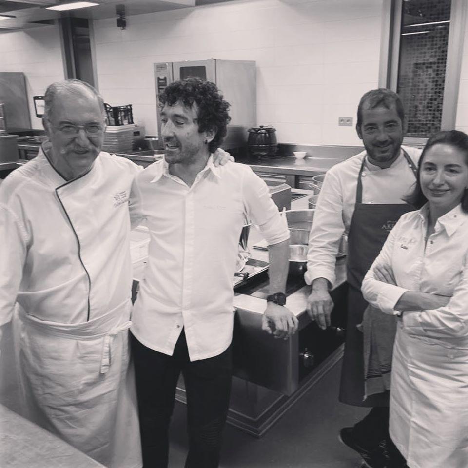 Disfruta de la cocina que te ofrece el chef
