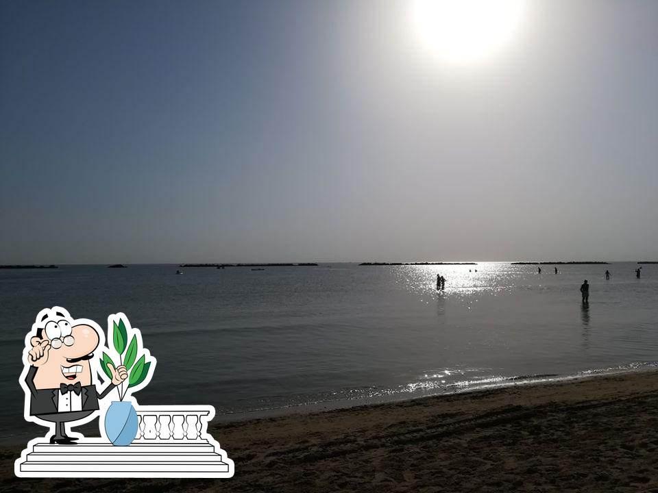 Gli esterni costituiscono una caratteristica importante di Bagno Trieste