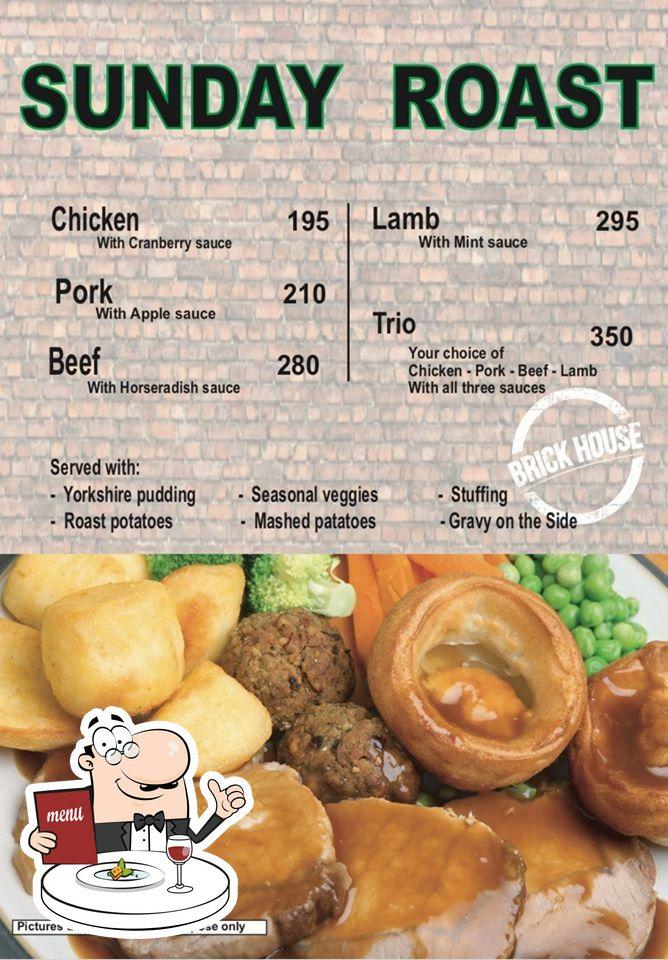 Meals at Brick House