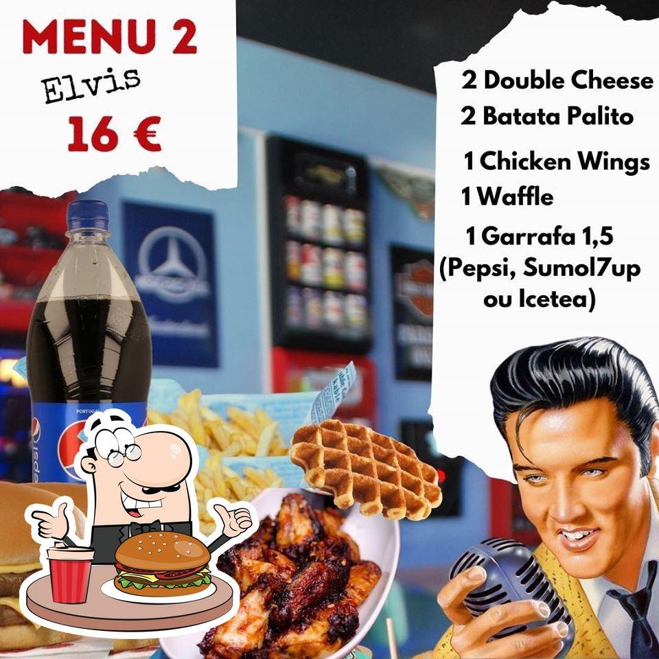 Os hambúrgueres do Brunn's Diner irão satisfazer diferentes gostos