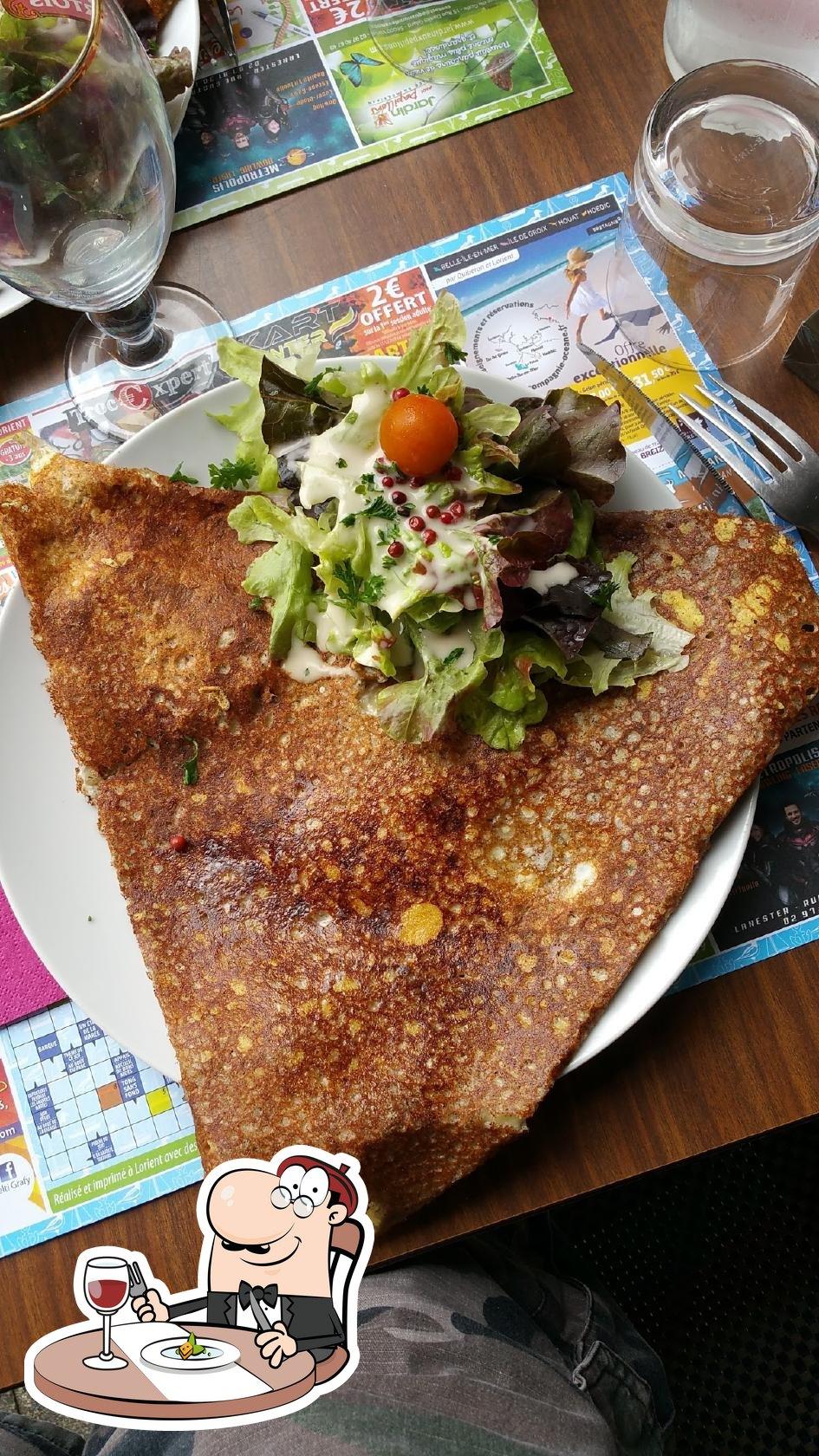 Nourriture à Creperie Du Bourg
