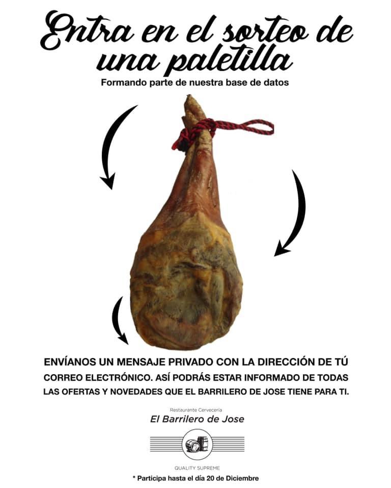 Este es el anuncio de El Barrilero de Jose