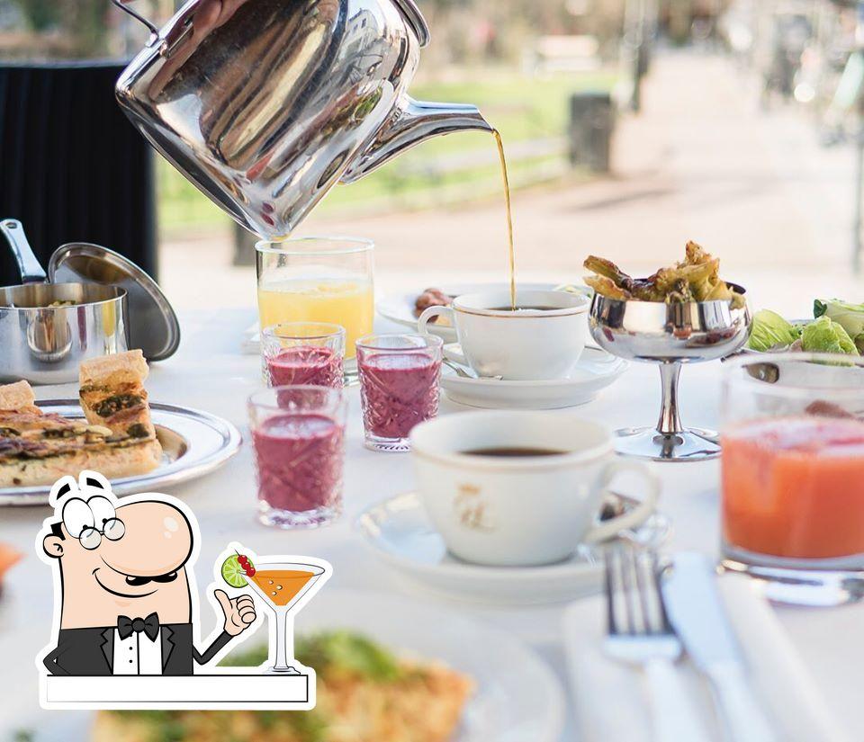 Quítate la sed con una bebida en Grand Hotel Lund