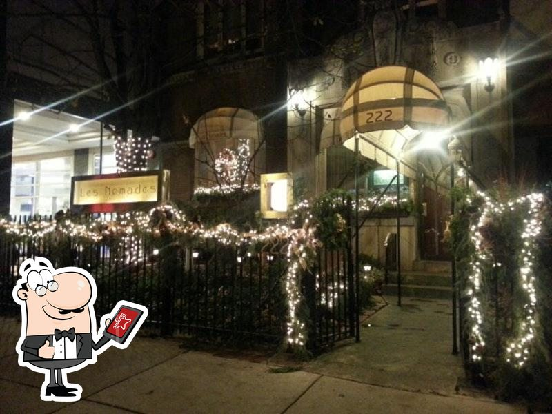 Check out how Les Nomades looks outside