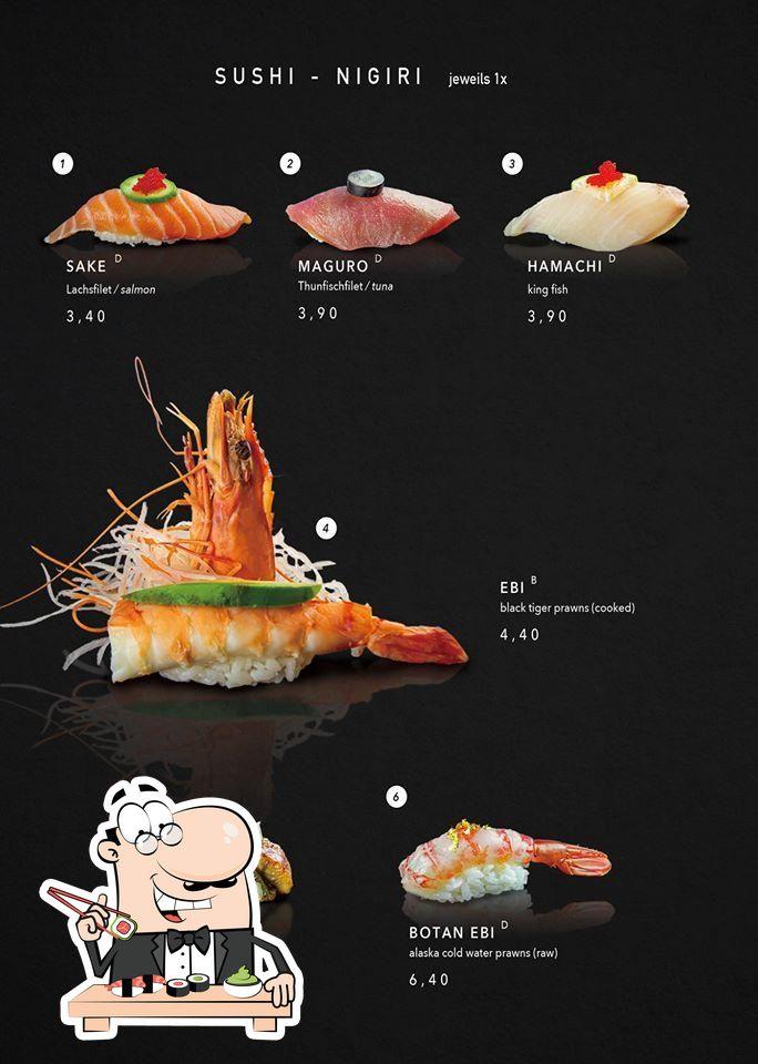 Попробуйте суши в Miyako Sushi Grill & more