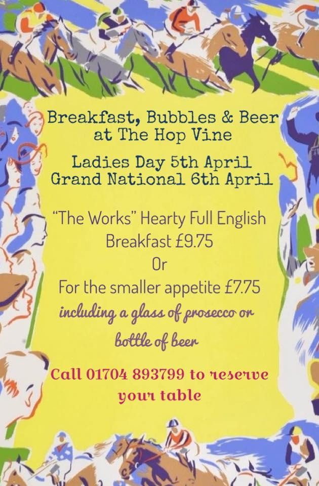 Read the information about The Hop Vine