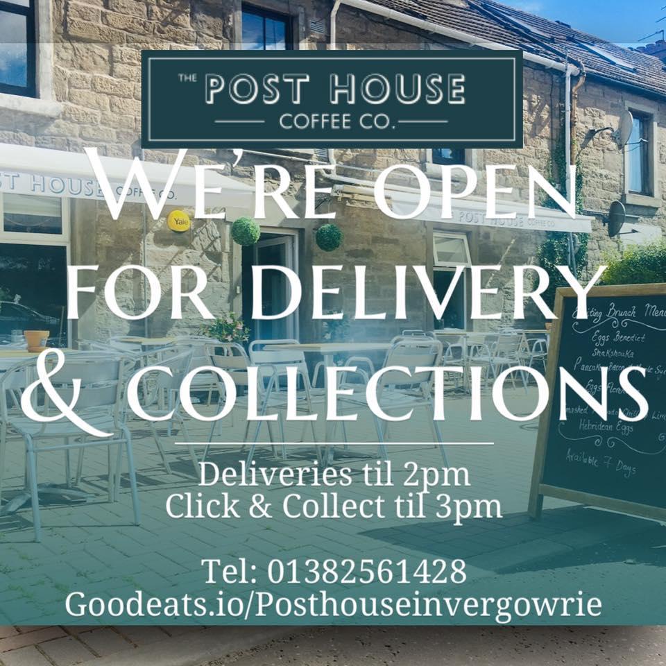 Fíjate en toda la información que hay sobre The Post House Coffee Co