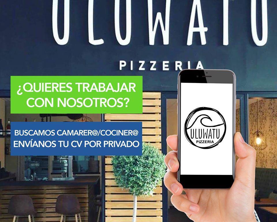 Here's the advertisement of Uluwatu Pizzeria