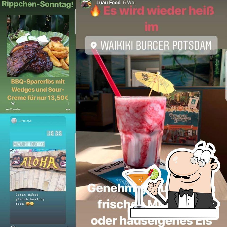 Try a drink at Waikiki Burger