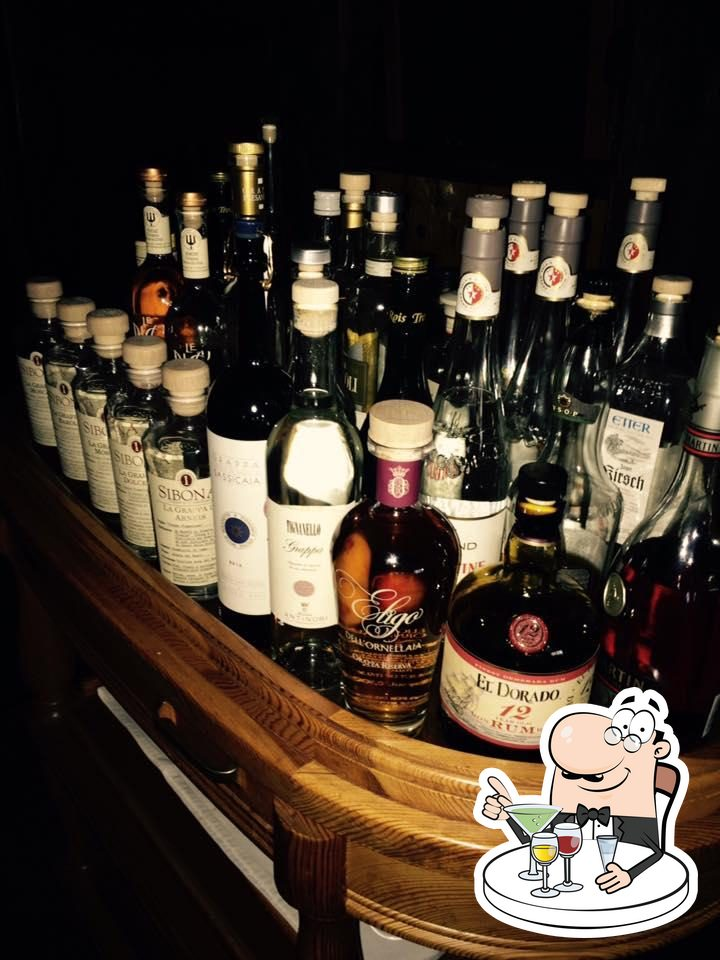 Pick spirits and other alcoholic drinks