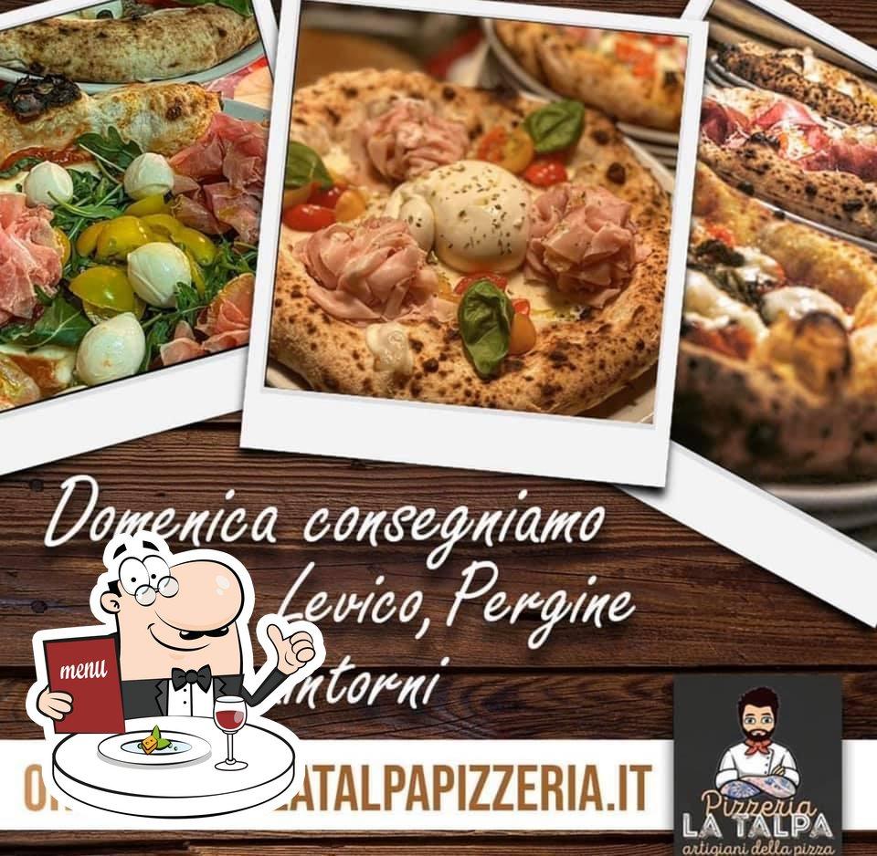 Platti al Bar Pizzeria La Talpa