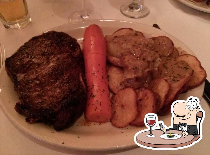 Food at Bob's Steak & Chop House