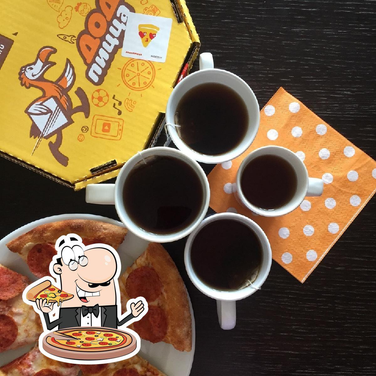 En Dodo Pizza, puedes disfrutar de una pizza