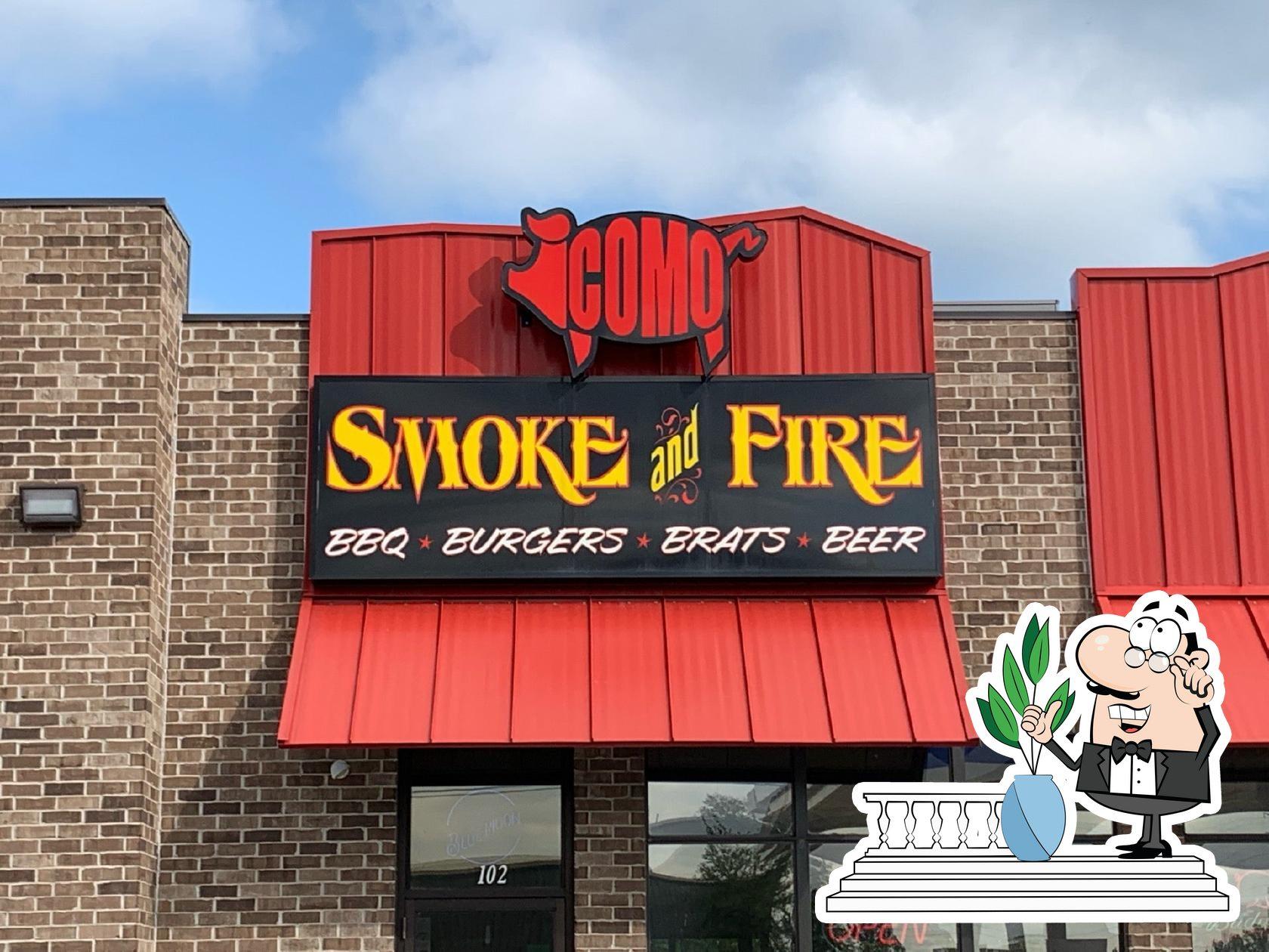 The exterior of Como Smoke and Fire