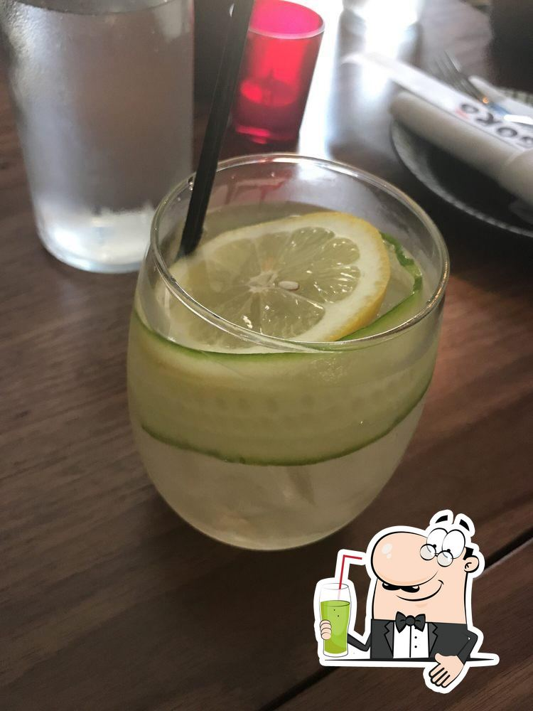 Gorō Ramen tiene diferentes bebidas