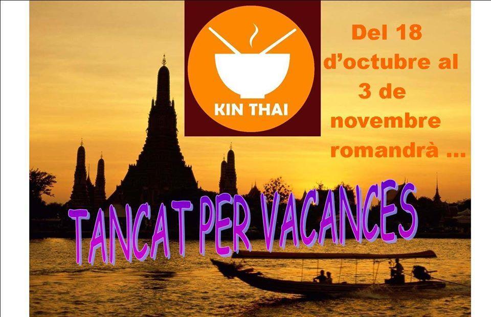 Реклама содержит информацию о Kin Thai