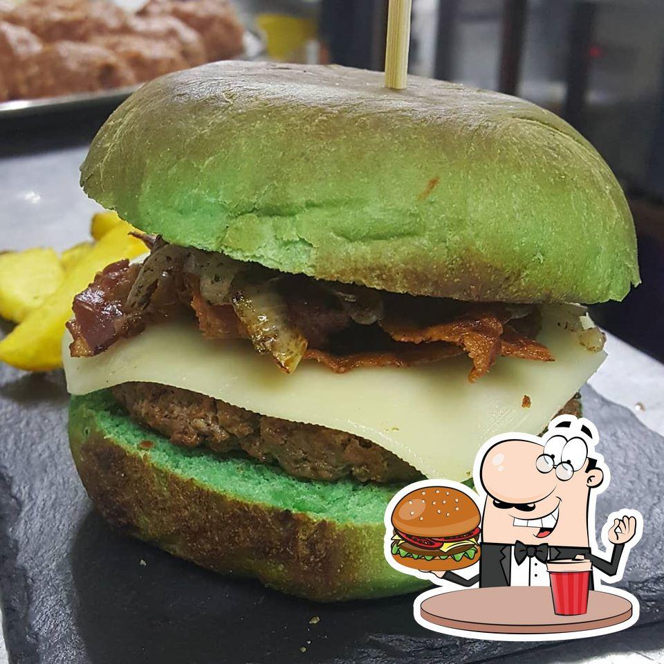 Pide una hamburguesa en Kolektiv