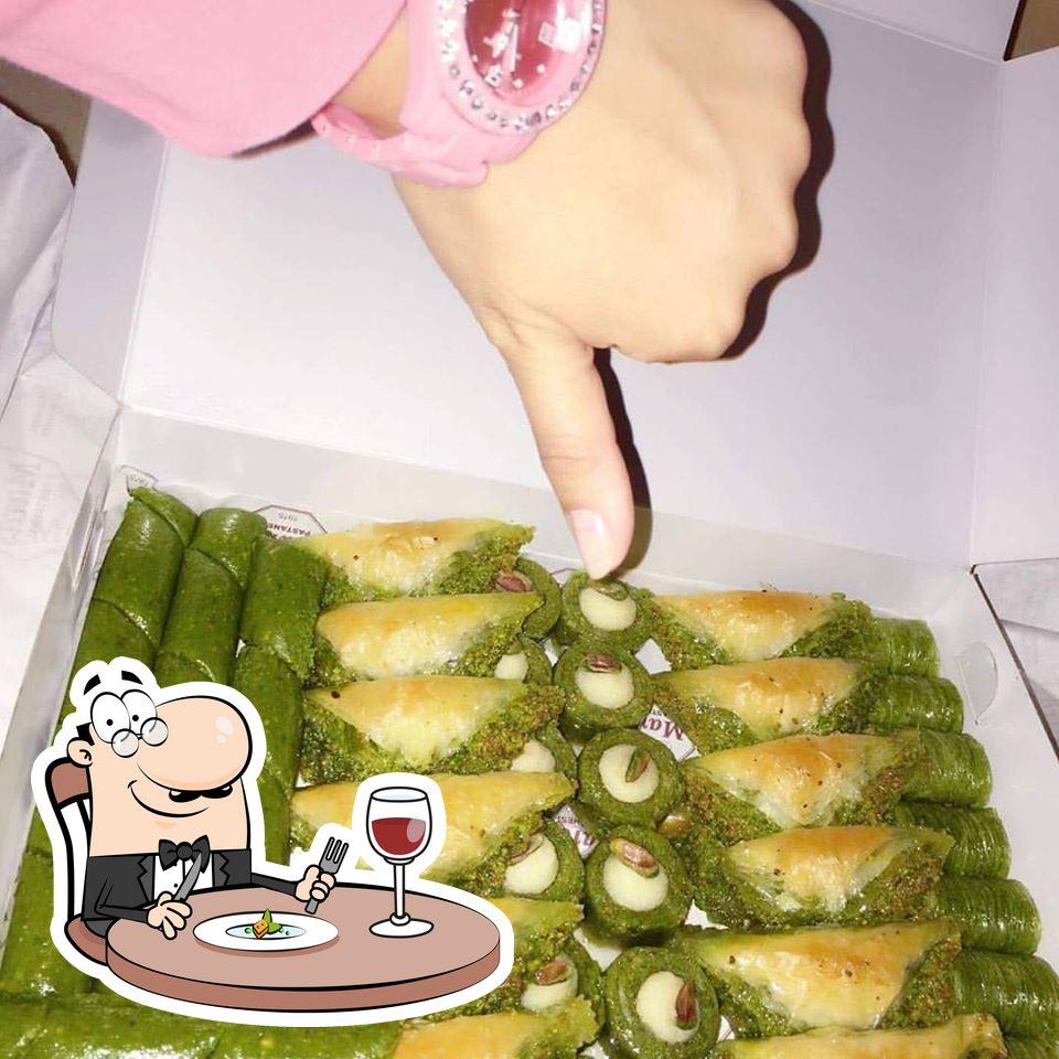Meals at Maraş Pastanesi