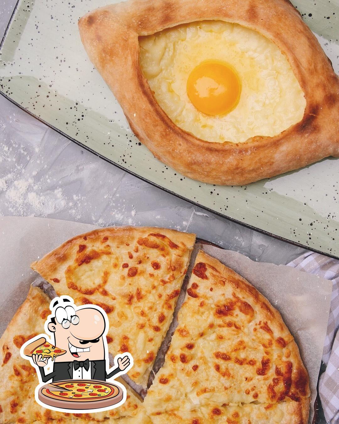 A Rustaveli, vous pouvez essayer des pizzas