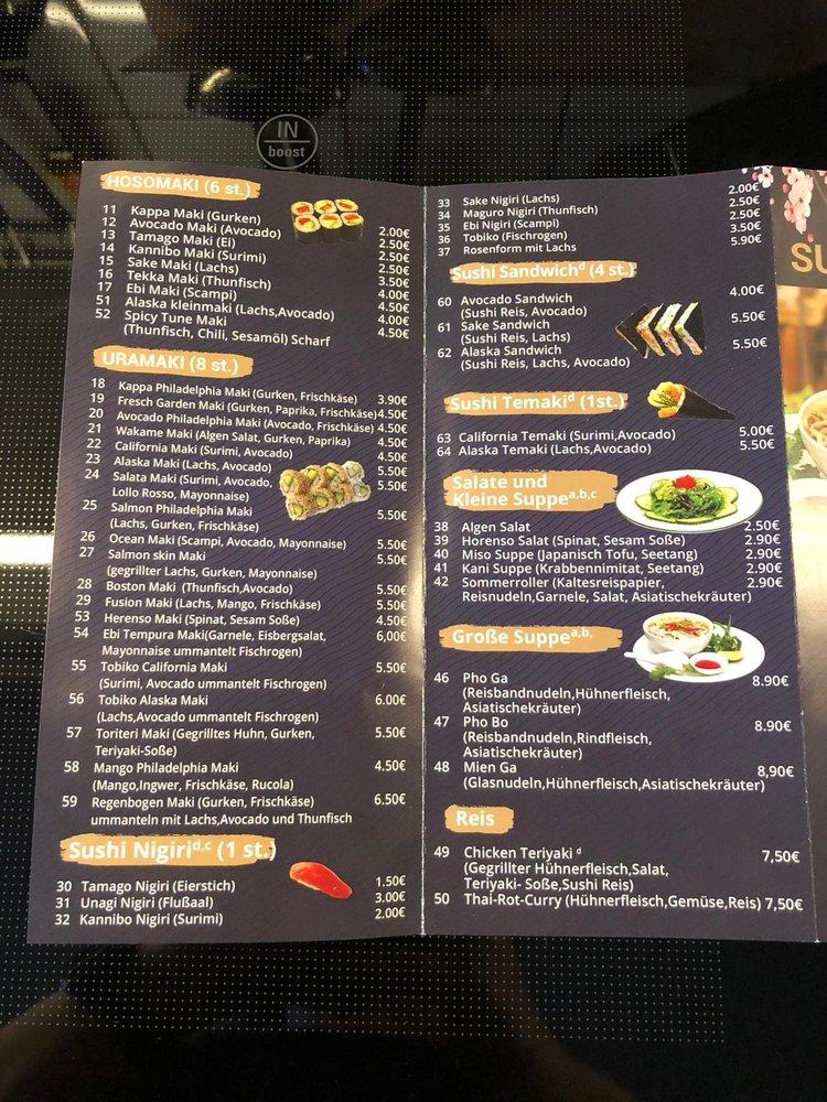 Sushi Fusion Restaurant Grobenzell