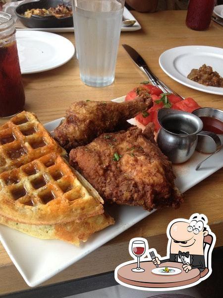 Food at Yardbird Southern Table & Bar