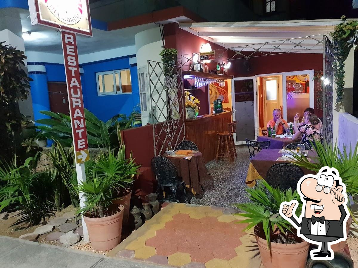 Check out how El Bodegon del Gordo looks inside