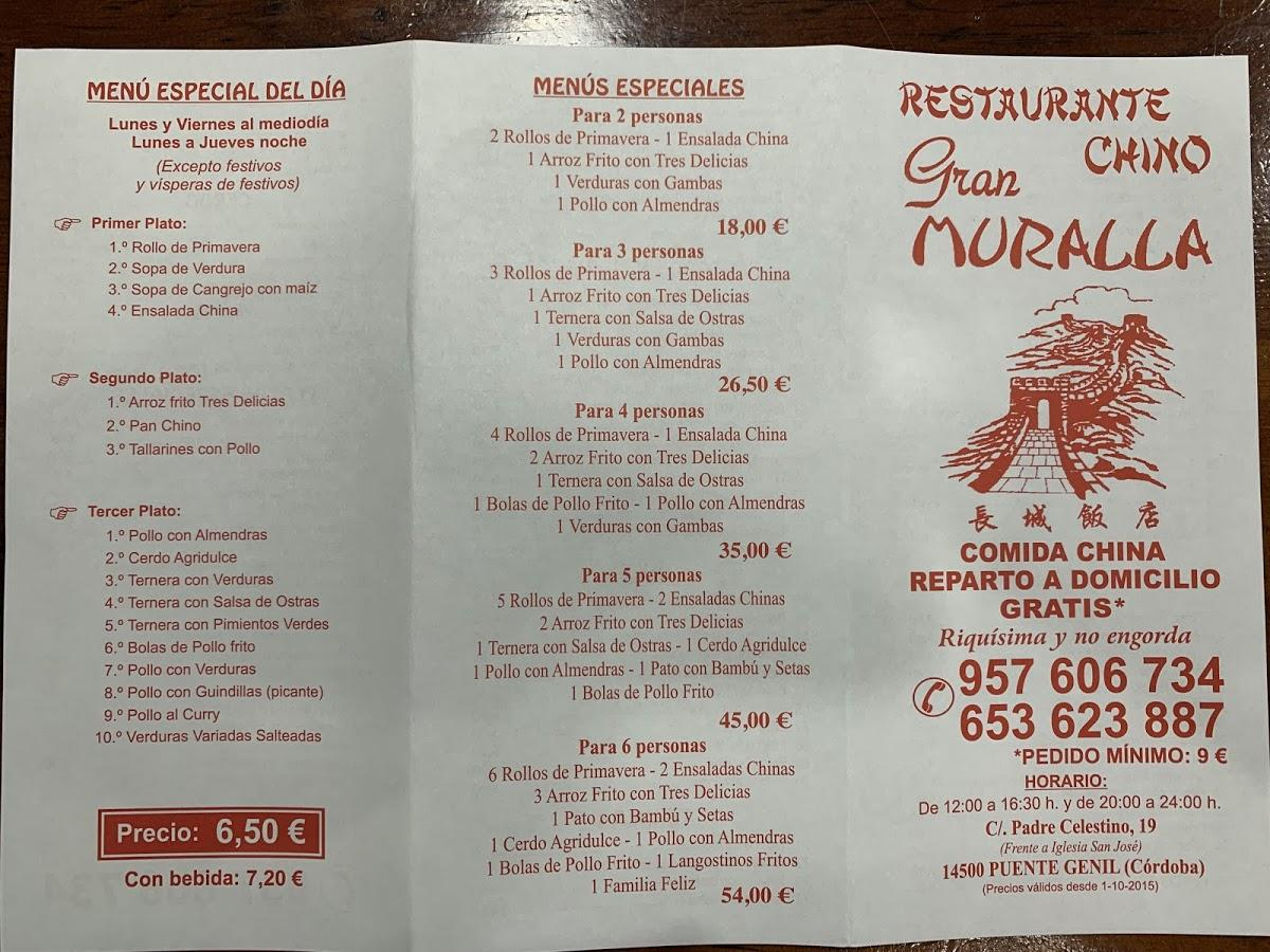 Restaurante Gran Muralla In Puente Genil Restaurant Reviews