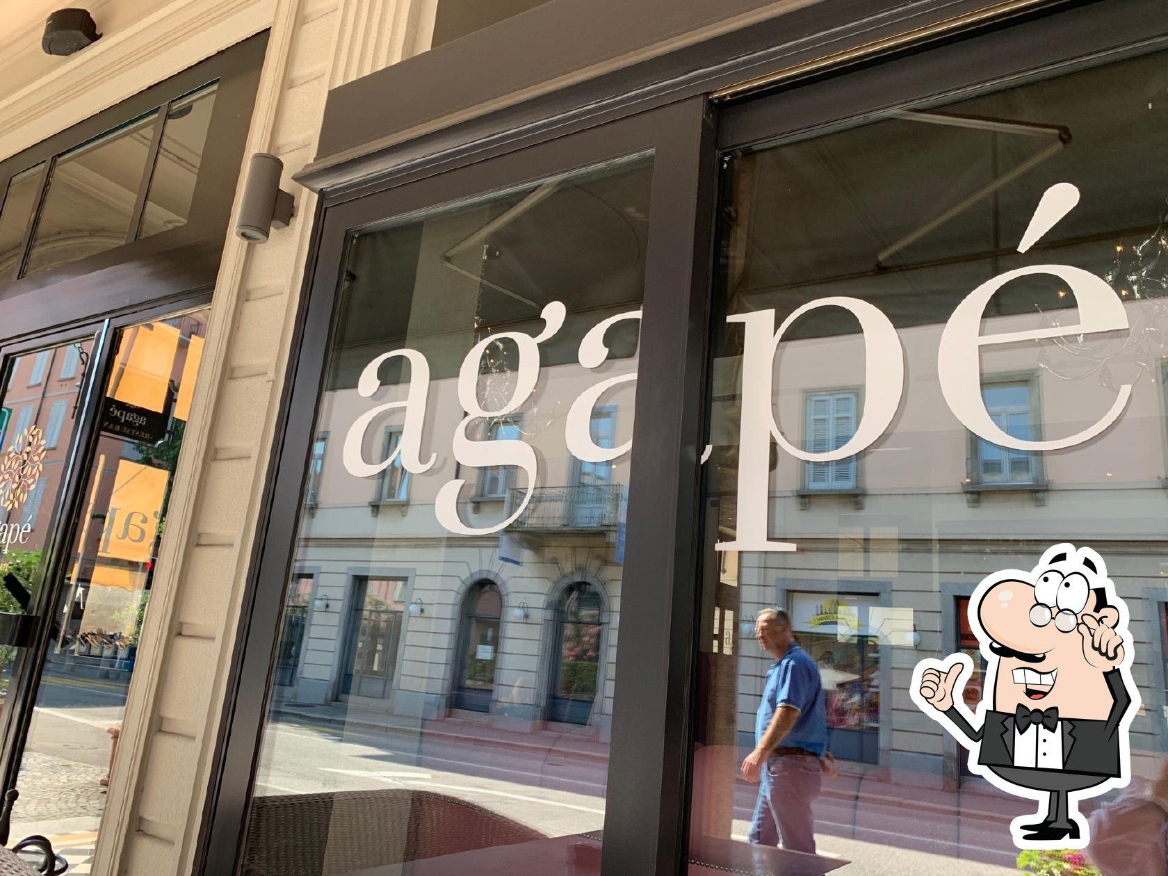 Gli interni di agapé - cucina bistronomica a Lugano