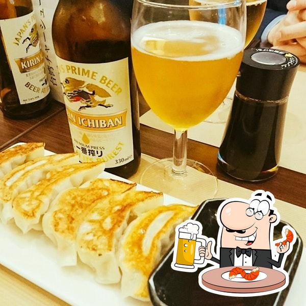 Commandez une pinte de bière blonde ou brune