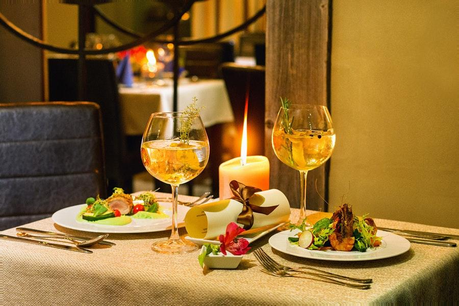 Have a glass of wine at Gin & Tonic Club
