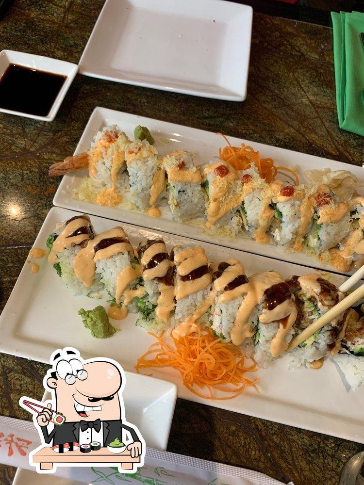 At Goung Zhou, you can get sushi
