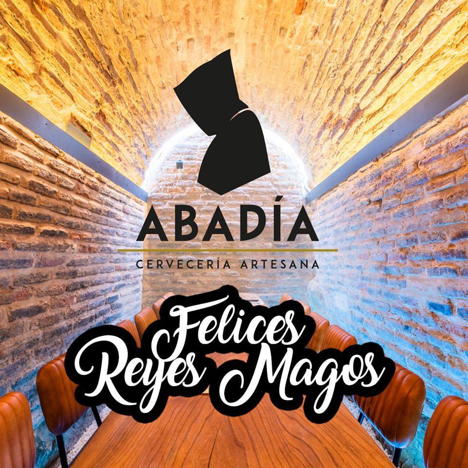 Este es el anuncio de La Abadía Cervecería Artesana