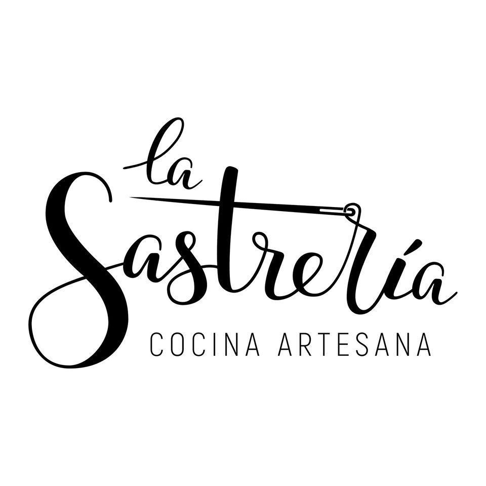 La identidad gráfica de la marca La Sastrería Cocina Artesana