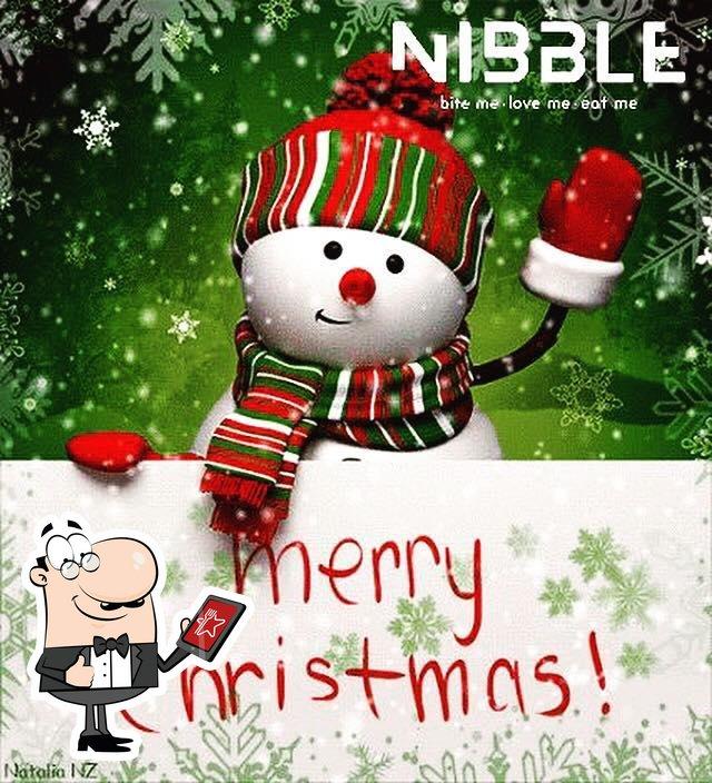 Puedes tomar el aire fresco en la parte exterior de Nibble